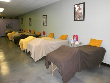 treatment space beds